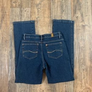 Aura By Wrangler Bootcut Jeans Size 6 Regular